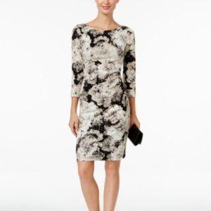 Jessica Howard Black Women's Size 8P Petite Floral